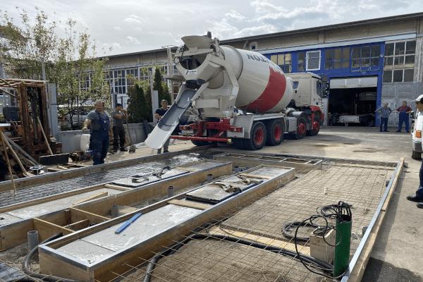 Bau unserer KFZ Prüfstelle in Stuttgart